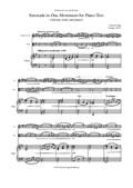 Serenade in One Movement for Piano Trio (clarinet, viola and piano)
