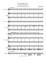 Soundscape No.5- Score and parts