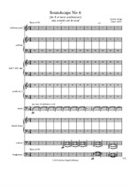 Soundscape No.6 - Score and parts